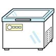 冷凍庫のイラスト